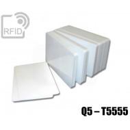 Tessere card bianche RFID Q5 – T5555