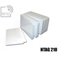 Tessere card bianche RFID NFC NTAG210