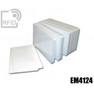 Tessere card bianche RFID EM4124