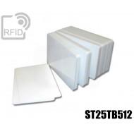 Tessere card bianche RFID ST25TB512
