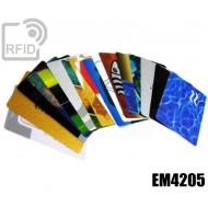 Tessere card personalizzate RFID EM4205 1