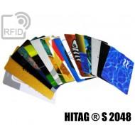 Tessere card personalizzate RFID HITAG ® S 2048 1