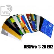 Tessere card personalizzate RFID MIFARE Classic ® 1K 7B EV1 1