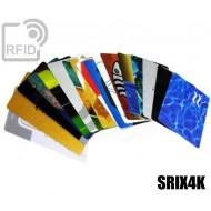 Tessere card personalizzate RFID SRIX4K 1