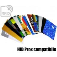 Tessere card personalizzate RFID HID Prox compatibile 1