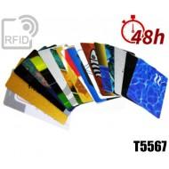 Tessere card stampa 48H RFID T5567