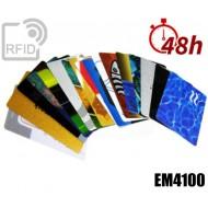 Tessere card stampa 48H RFID EM4100