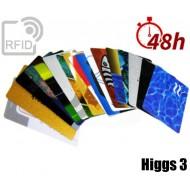 Tessere card stampa 48H RFID Higgs 3