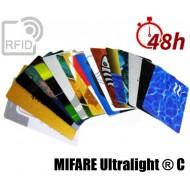 Tessere card stampa 48H RFID NFC MIFARE Ultralight ® C