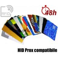 Tessere card stampa 48H RFID HID Prox compatibile
