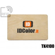 Tessere card in legno RFID TK4100 1