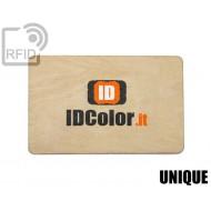 Tessere card in legno RFID UNIQUE 1