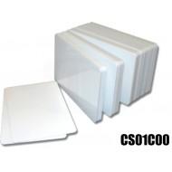 Tessere card neutre bianche