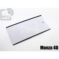 Cartellini UHF rettangolari Monza 4D 1