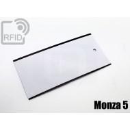 Cartellini UHF rettangolari Monza 5 1