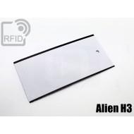 Cartellini UHF rettangolari Alien H3