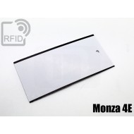 Cartellini UHF rettangolari Monza 4E 1