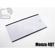 Cartellini UHF rettangolari Monza 4QT 1