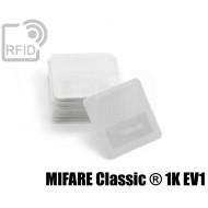 Etichette Nylon 25 x 25 mm MIFARE Classic ® 1K EV1