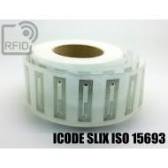 Etichette RFID trasparente 56 x 18 mm ICODE SLIX ISO 15693 1