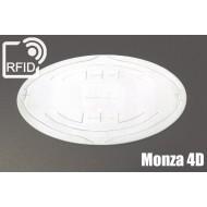 Etichette RFID UHF ovali Monza 4D 1