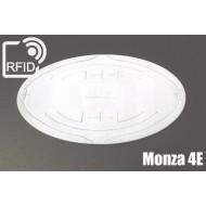 Etichette RFID UHF ovali Monza 4E