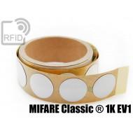 Etichette RFID antimetallo 30 mm MIFARE Classic ® 1K EV1 1