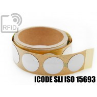 Etichette RFID antimetallo 30 mm ICODE SLI ISO 15693