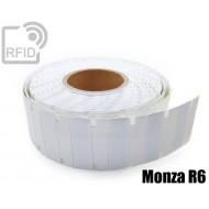 Etichette UHF antimetallo 70 x 23 mm Monza R6