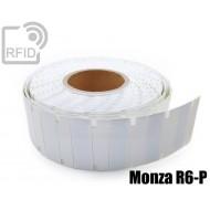 Etichette UHF antimetallo 70 x 23 mm Monza R6-P