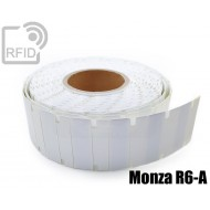 Etichette UHF antimetallo 70 x 23 mm Monza R6-A