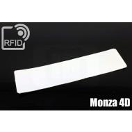 Etichette RFID UHF antimanomissione Monza 4D 1