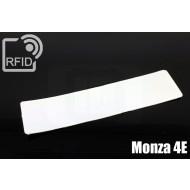 Etichette RFID UHF antimanomissione Monza 4E 1