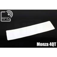 Etichette RFID UHF antimanomissione Monza 4QT 1