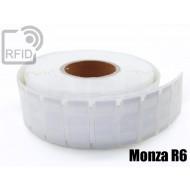 Etichette UHF alta aderenza 64 x 24 mm Monza R6