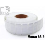 Etichette UHF alta aderenza 64 x 24 mm Monza R6-P 1