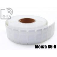 Etichette UHF alta aderenza 64 x 24 mm Monza R6-A