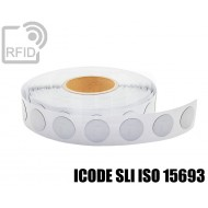Etichette RFID antimetallo 35 mm ICODE SLI ISO 15693