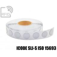 Etichette RFID antimetallo 35 mm ICODE SLI-S ISO 15693