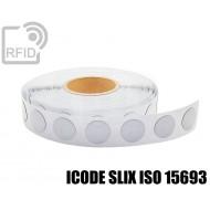Etichette RFID antimetallo 35 mm ICODE SLIX ISO 15693