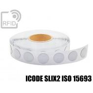 Etichette RFID antimetallo 35 mm ICODE SLIX2 ISO 15693