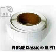 Etichette RFID 50 x 50 mm MIFARE Classic ® 1K EV1 1