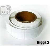 Etichette RFID quadrate personalizzabili Higgs 3