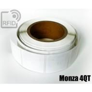 Etichette RFID 50 x 50 mm Monza 4QT 1