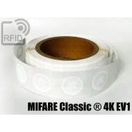 Etichette RFID Diam. 25 mm MIFARE Classic ® 4K EV1 1