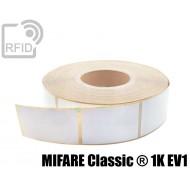 Etichette RFID 40 x 25 mm MIFARE Classic ® 1K EV1 1