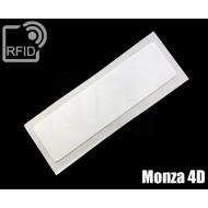 Etichette RFID 74 x 21 mm Monza 4D