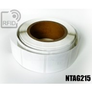 Etichette RFID 19 x 11 mm NFC NTAG215 1