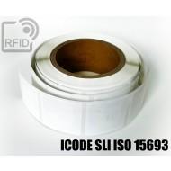 Etichette RFID 44 x 44 mm ICODE SLI ISO 15693