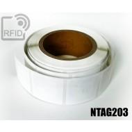 Etichette RFID 44 x 44 mm NFC NTAG203 1